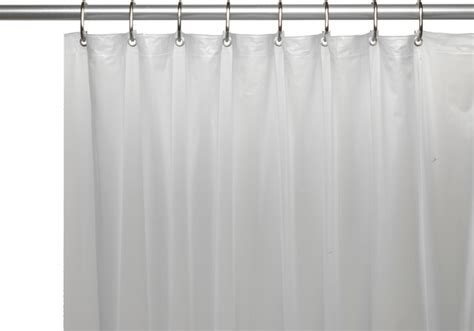 72 x 78 shower curtain liner extra long 78 x 72 5 gauge vinyl liner w metal