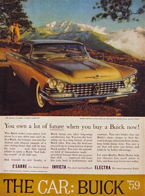 1959 buick lesabre 4 door hardtop ad vintage buick ads