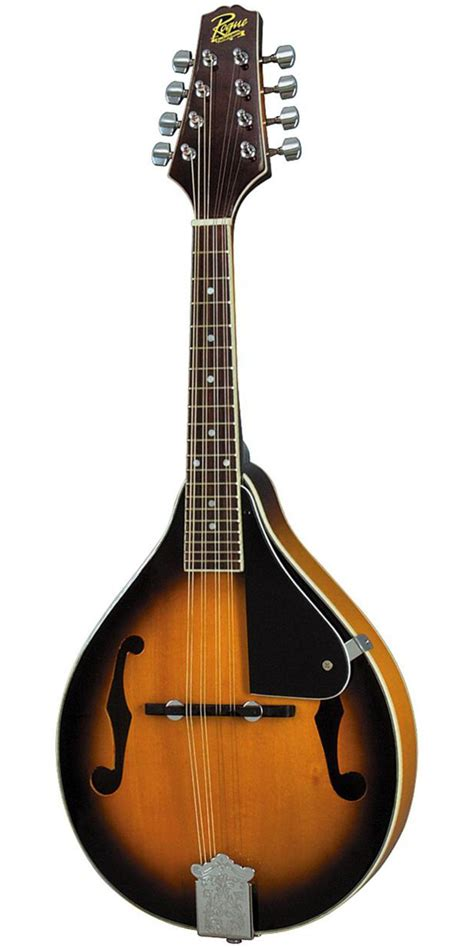 Gitar Mandolin rogue rm 100a a style mandolin sunburst