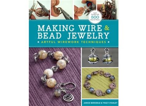 jewelry books free book review wire and bead jewelry and free