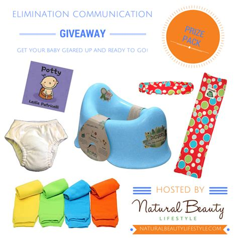 Prize Pack Giveaway - elimination communication giveaway natural beauty lifestyle