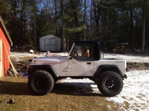94 Jeep Wrangler Sell Used 94 Jeep Wrangler 4x4 Scrambler Cj8 In Woodstock