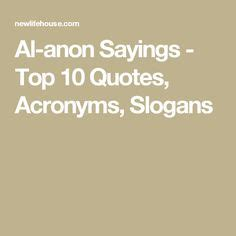 al anon doormat quote slogans other quotes acronyms al anon family al anon recovery