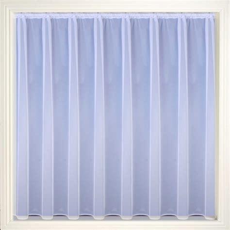 white curtain fabric albany plain net curtain fabric white 122cm voile net