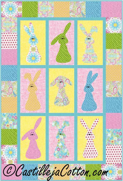 quilt pattern galore bunnies galore quilt pattern cjc 4461 advanced beginner