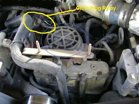 1996 7 3 Powerstroke Glow Plug Relay Location Glow Plugs Located On 2000 Powerstroke Not Silinoid Relay