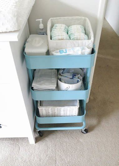 r 197 skog kitchen cart from ikea kitchen pinterest omg never thought of this cart for diapers and such how to