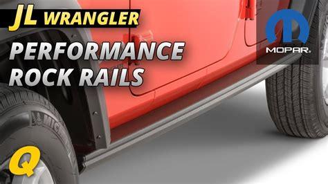 mopar ab performance rock rails    jeep wrangler unlimited jl  door quadratec