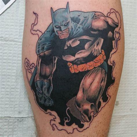 Batman Justice Tattoo | 100 best batman symbol tattoo ideas comic superhero 2018