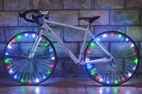 Bicycle Tadpole Light Multi Colour Led Mountain Bike Flashlight 2 Pcs 20 led bicycle lights mountain bike light cycling spoke wheel l bike accessories luces led