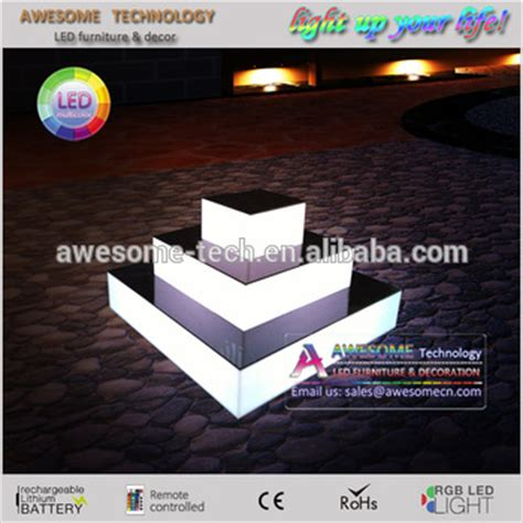 cupcake stand with led lights light up led cupcake stand buy collapsible cupcake stand