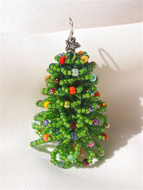 43 best images about beaded christmas trees on pinterest
