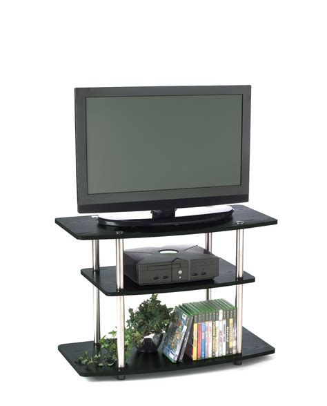 designs 2 go 3 tier tv stand by convenience concepts inc