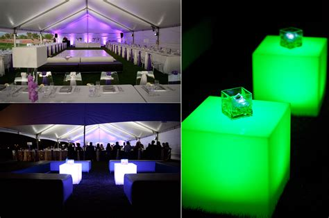 led lighting wedding reception decor ambiance onewed com