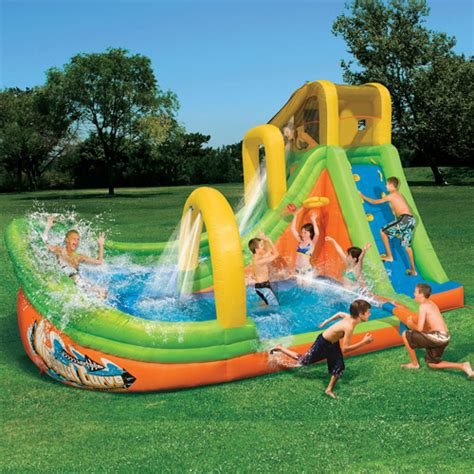 backyard blow up water slides walmart