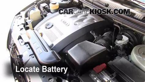 Kia Sedona Car Battery Battery Replacement 2002 2005 Kia Sedona 2003 Kia