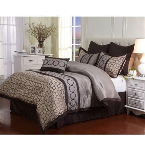 Grey Size Comforter Sets by King Size Comforter Set Grey Modern 7 Geometric Bedding Luxury Bedroom New Ebay