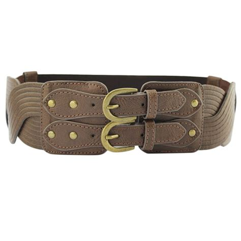 fashion wide stretch elastic waist belt corset