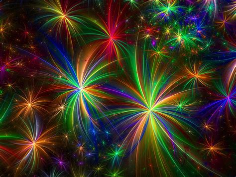 colorful firework celebration graphics hd wallpaper