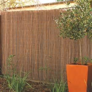 garden trend 1 8 x 3 0m willow screen fencing bunnings