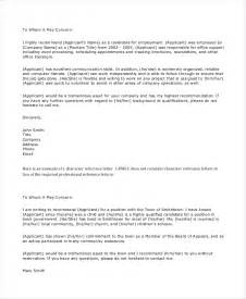 Business Letters Of Recommendation Exles 7 Personal Reference Letter Templates Free Sle