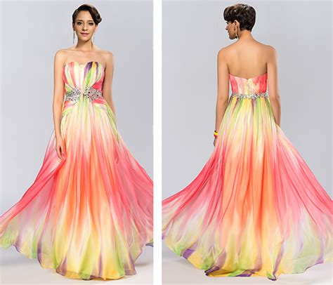colorful prom dresses colourful prom dress prom dress sweetheart cocktail