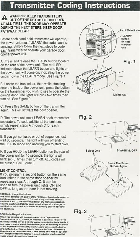 Genie Garage Door Owners Manual Popular Mechanics Compatible Garage Door Opener Parts Programming