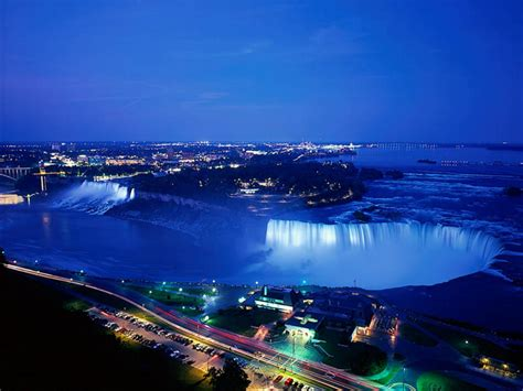 niagara falls night world visits welcome to niagara falls colorful view in