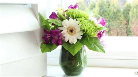 small flower arrangements diy small flower arrangement youtube