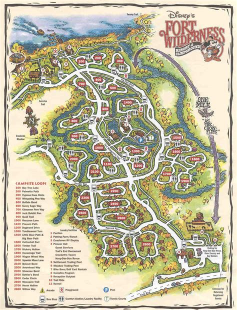 fort wilderness map ft wilderness to mk wdwmagic unofficial walt disney world discussion forums