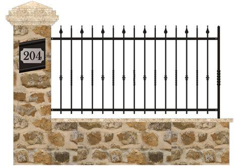 recinzioni in ferro battuto per giardini recinzioni in ferro battuto