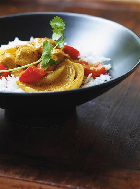 recette spaghetti aux crevettes au curry et aux poivrons