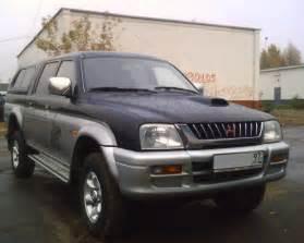 1998 Mitsubishi L200 1998 Mitsubishi L200 Pictures 2500cc Diesel Manual For