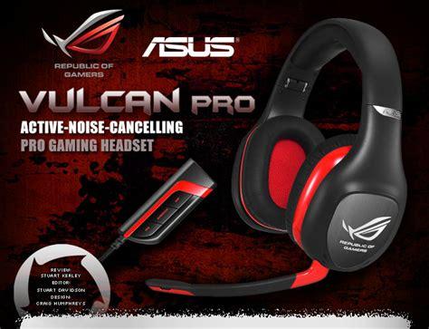 Headset Asus Vulcan asus rog vulcan pro gaming headset review hardwareheaven