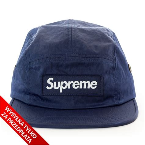 supreme 5 panel supreme 5 panel washed c cap navy caps 5