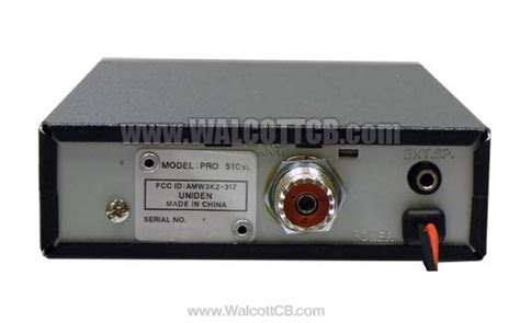 uniden proxl cb radio