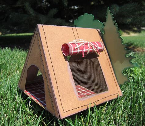 How To Make A Paper Tent - cing tent pazzles craft room