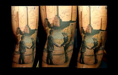 tattoos album tattoos half sleeve pink floyd
