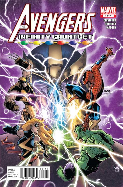 the and the infinity gauntlet 1 preview