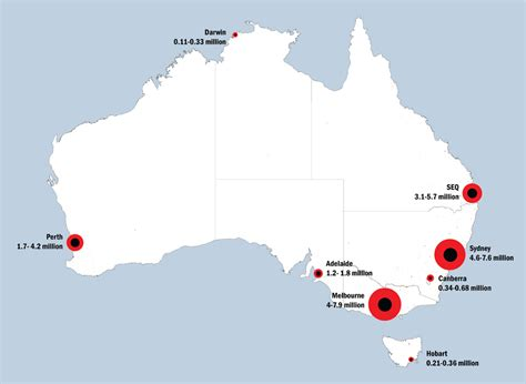 major cities in australia map made in australia the future of australian cities