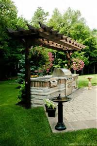 outdoor cooking area decorating lake house pinterest