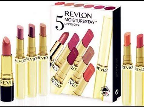 Revlon Lipstick Moisturestay product review revlon 5 moisturestay lipcolors