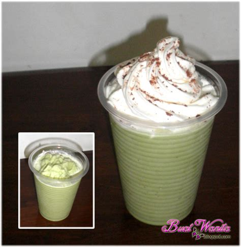 blend matcha green tea teh hijau latte buat wanita