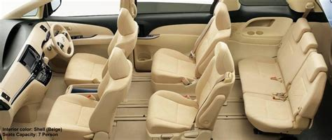 Tavera 7 Seater Interior by New Toyota Estima Interior Shell Beige 7 Seater