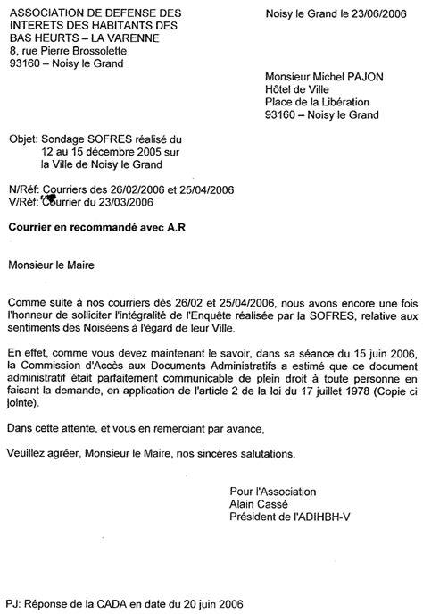 Lettre De Satisfaction Entreprise Modele Lettre Questionnaire Satisfaction Document