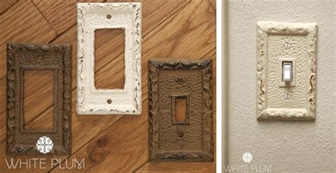 rustic light switch covers 2 style options
