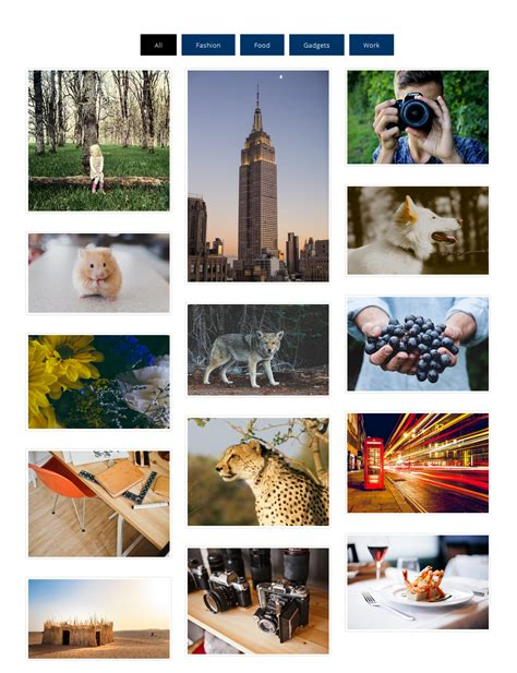 Plugin Image Gallery With Thumbnails
