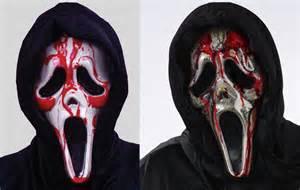 ghost face bleeding mask dripping bleeding ghost face 174 mask halloween