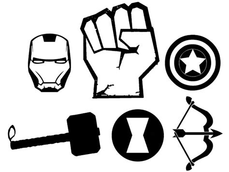 avengers logo coloring page doodlecraft the avengers t shirt and stencil