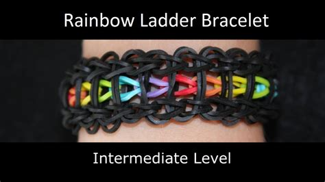 how to make a ladder bracelet with rainbow loom 174 rainbow ladder bracelet
